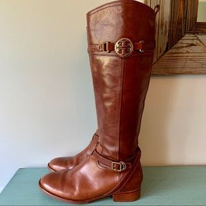 Gorgeous! Tory Burch Chocolate Brown Riding Boots